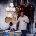 Craxi per le strade di Hammamet
