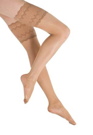 Sul filo della calza da donna