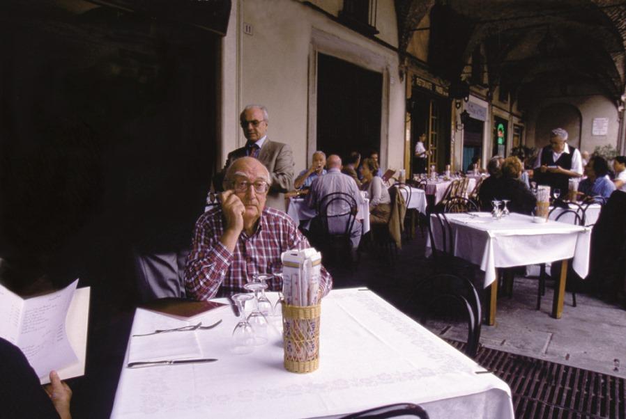 Andrea Camilleri fotografato da Giorgio Lotti