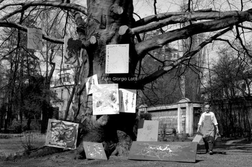 Lucio Fontana visto da Giorgio Lotti e narrato da Piero Chiara