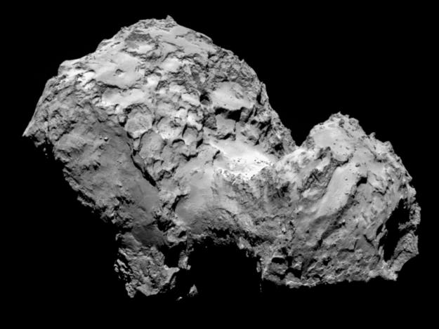 La cometa Gerasimenko