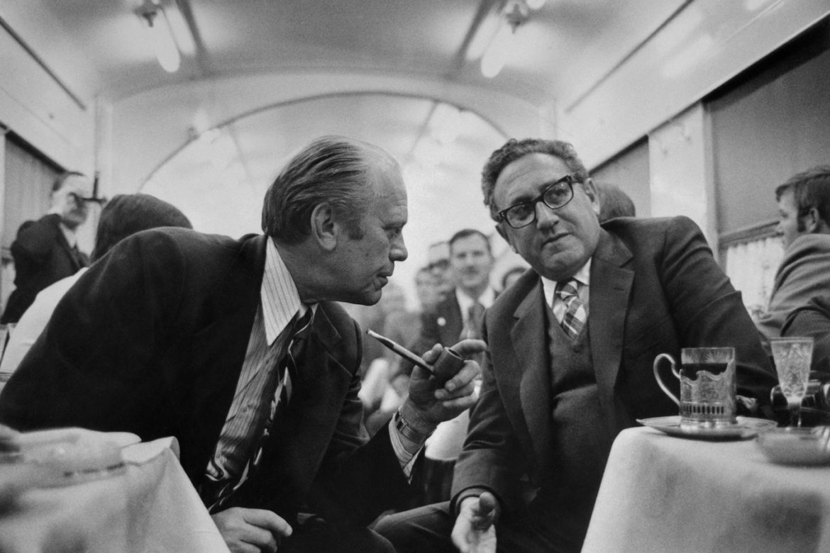 Henry Kissinger  a proposito di Gerald Ford