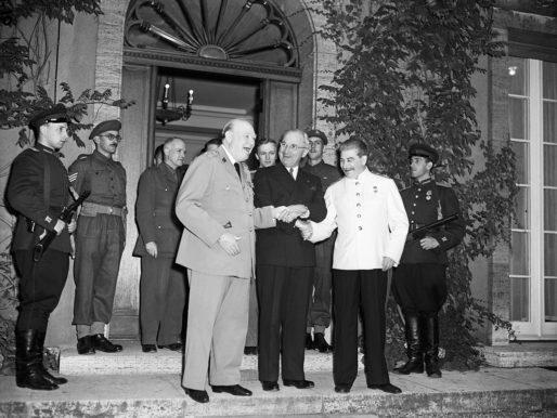 La conferenza di Potsdam. I tre 'grandi'