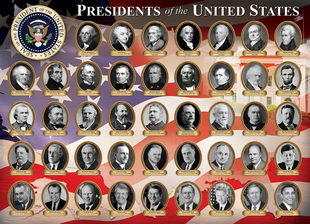 Trump 'orfanello', ovvero la 'figura' del nove e i Presidenti USA